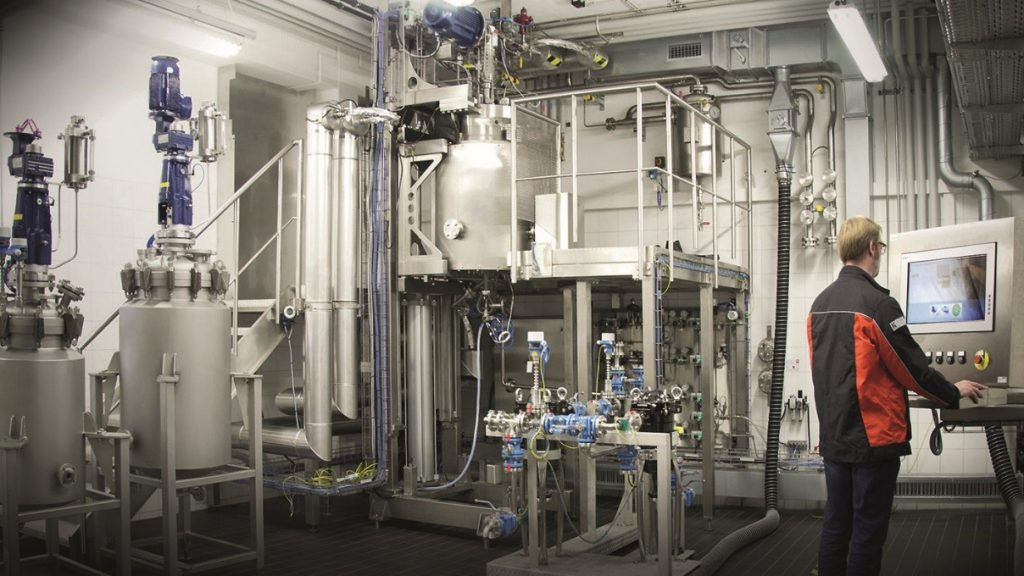 Planta piloto de hidrogenación EKATO