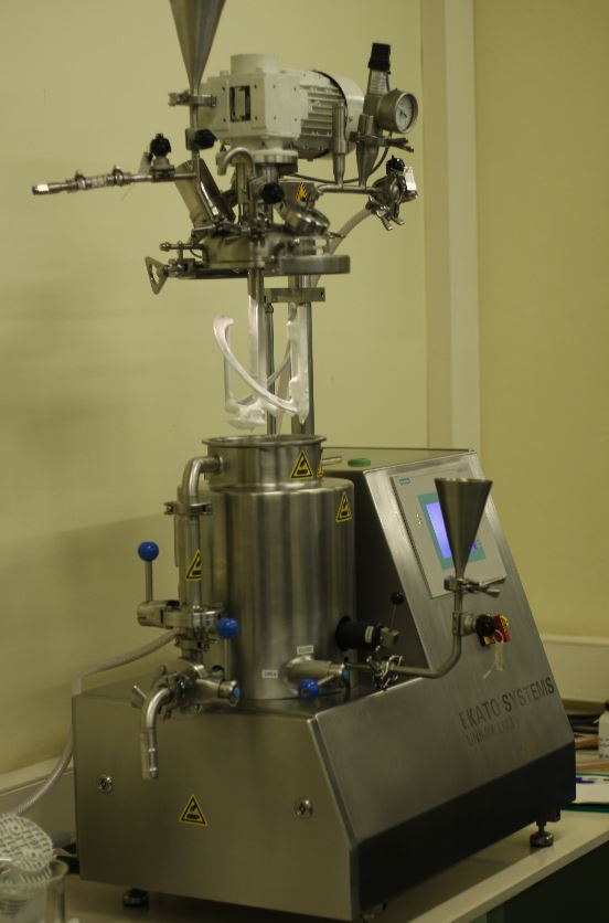 """Máquina LM3 de Ekato System. Archivo (""""Unimix Day en Barcelona, 2009)"""