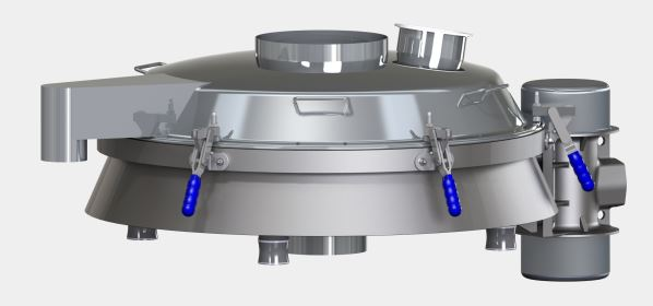 Tamices vibratorios estándar de la serie Sievmaster Slimline de Farleygreene (farleygreene.com)
