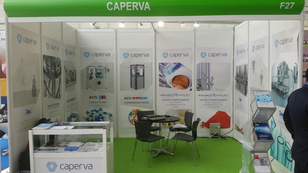 Farmaforum 2016 - stand de CAPERVA